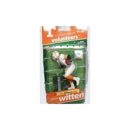 McFarlane Sportspicks: NCAA Football Series 2 Jason Witten (Tennessee Volunteers, White Jersey Variant) Action Figure