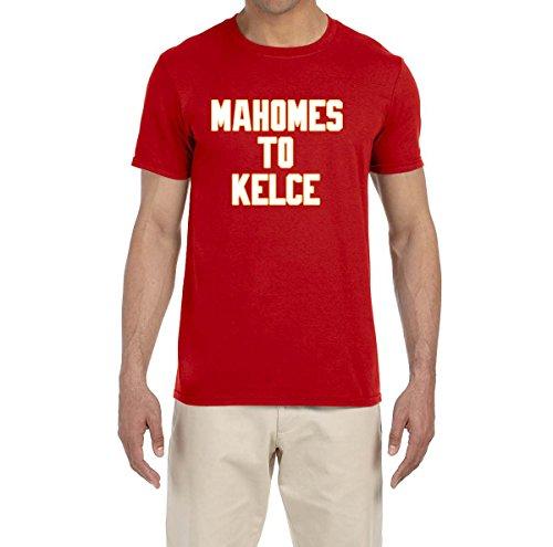 Tobin Clothing RED Kansas City Mahomes to Kelce T-Shirt Adult Medium