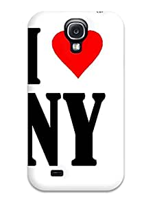 Pauline F. Martinez's Shop 7467866K20670054 New Shockproof Protection Case Cover For Galaxy S4/ I Love Ny Logo Case Cover