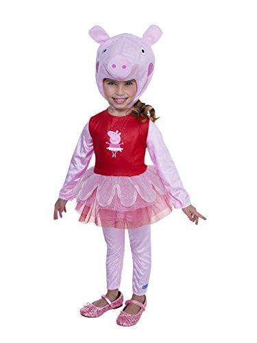 Kid's Peppa Pig Ballerina Costume Assorted Toddler