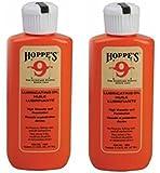 (2-Pack) Hoppes No. 9 Lubricating Oil, 2-1/4 oz. Bottle