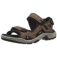 Ecco Shoes Men'S Ecco Yucatan Espresso Sport Sandals