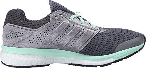 Adidas Dames Supernova Glijdende Beweging Boost 7 W Hardloopschoen Onix / Iron / Groen