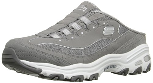 Skechers Sport Women's Resilient Fashion Sneaker, Gray/White, 9 M US by Skechers