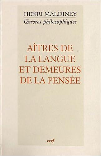 Livre gratuits en ligne Aîtres de la langue et demeures de la pensée pdf