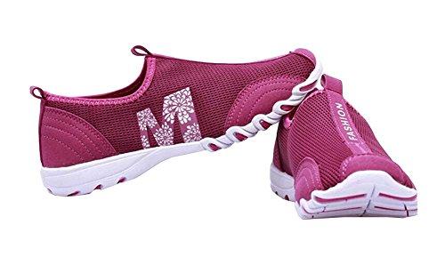 Atmungsaktive Turnschuhe für Frauen 2014 Frauen Mode Sneakers für Damen Laufschuhe Größe 35-40 (35, grau)