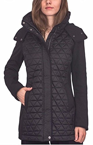 Marc New York Ladies' Quilted Jacket, Black - Medium