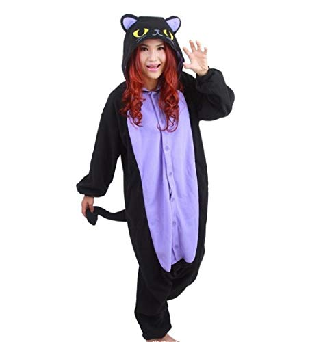 Adult Animal Onesie Pajamas Cosplay Pajamas One Piece Costumes Pajama Party(A XL)