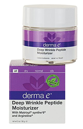 derma e Deep Wrinkle Peptide Moisturizer with Matrixyl and Argireline 2 Ounce