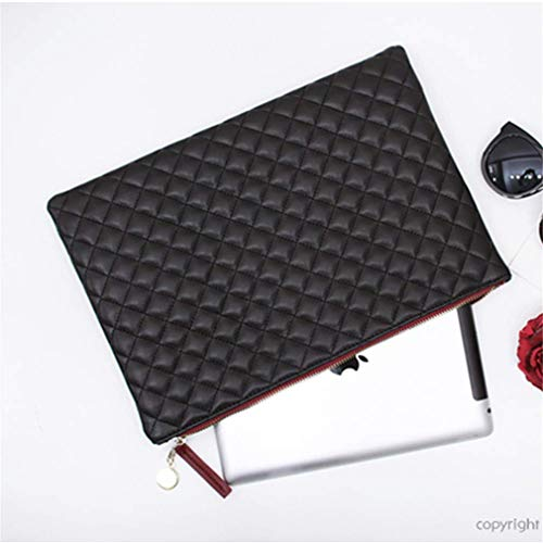 PU Party Day Bag Ladies Bag Black Bags Bags Lattice Envelope Clutches Clutch Women Leather Diamond Hand Evening E1wgRxXqnO