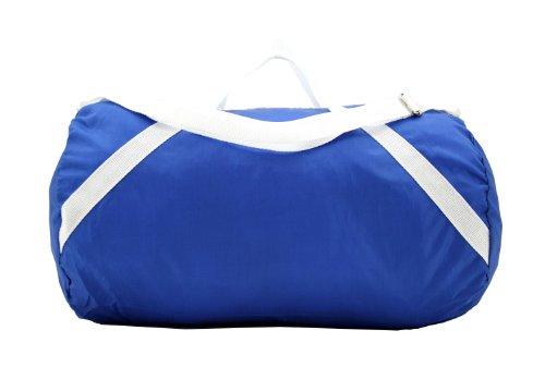 LightWeight Nylon Sports Roll Bag/Duffel Bag/Travel Bag (Blue)