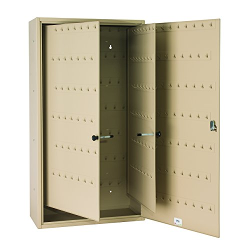 STEELMASTER Fob-Friendly Key Cabinet, 31.125 x 16.5 x 8 Inches, 310-Key Capacity, Sand (201030003) by STEELMASTER