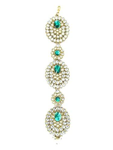 Hair Braid / Kundan Choti / Multi-Usable Hair Accessories / Jewelry / AZINBR042-GFI