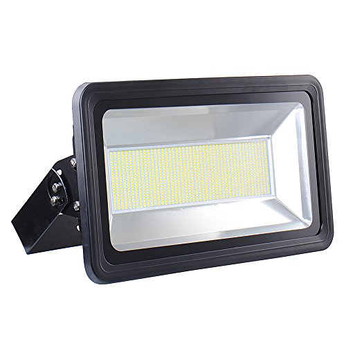 500W 110V Super Bright Floodlight Waterproof LED Spotlights Wall Lamp (Warm White) by Shantan