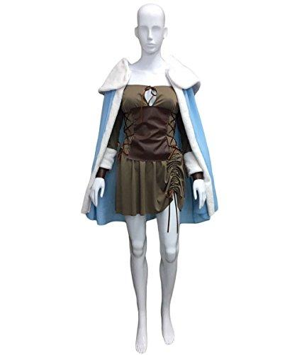 Halloween Party Online Women's Viking Vixen Sexy Warrior Costume, Brown Adult (M) (Viking Vixen Adult Costumes)
