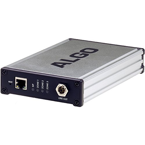Sip Analog Adapter - Algo 8373 Zone SIP to Analog IP Paging Adapter