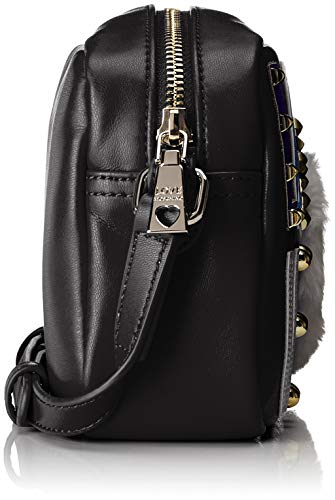 Shoulder Love Bag Pu Borsa nero Women's Moschino Black rIwqIBxF
