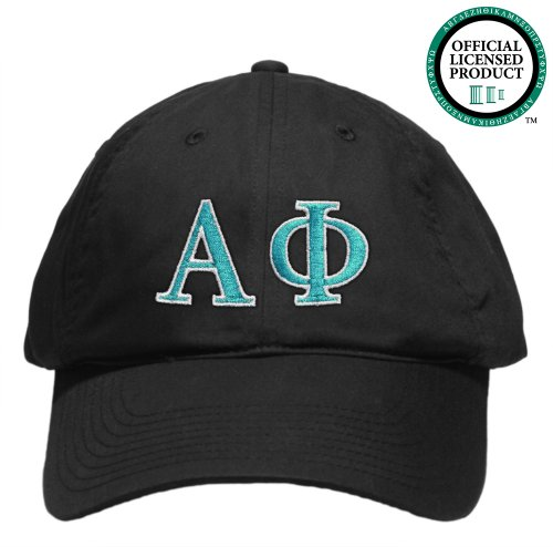 Alpha Phi (Alpha Phi) Embroidered Nike Golf Hat, Various Colors