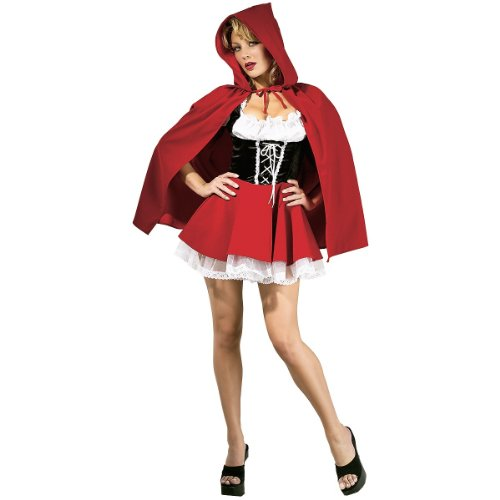 Red Riding Hood Adult Costume - Small -