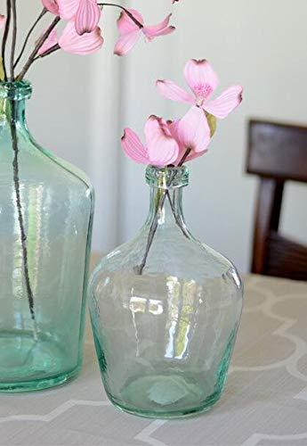 Laguna Vase - Richland Aqua Glass Laguna Vase 10