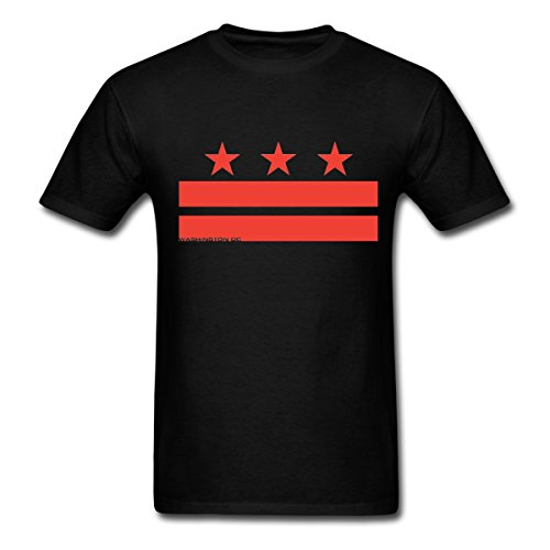 Washington Dc Flag Mens T Shirt By Spreadshirt  L  Black