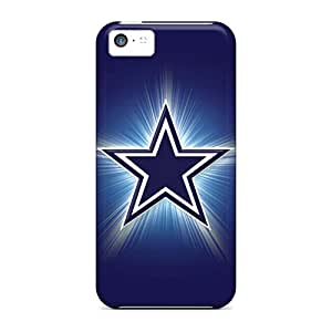 Scratch Protection Hard Cell-phone Cases For Iphone 5c With Custom High-definition Dallas Cowboys Pictures Best-phone-covers