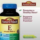 Nature Made Vitamin E 400 I.U. 100% Natural - 225 Softgels