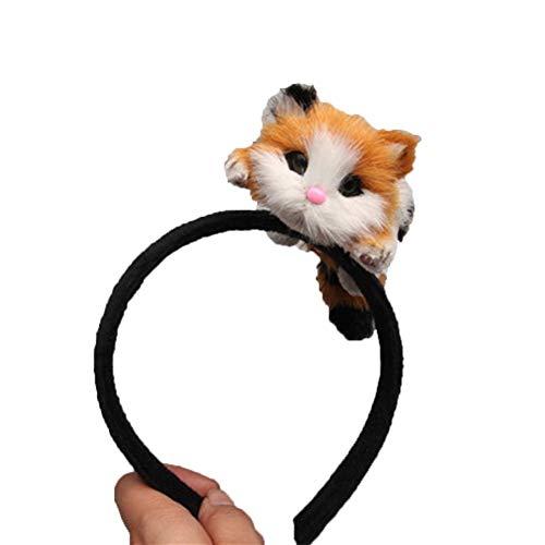 Shuohu 3D Cat Headband for Women Girl's Hair Hoop Kitten Hairband Costume Party Cosplay -