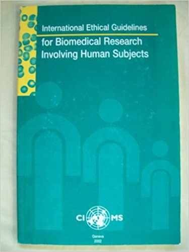 Biomedical research ethics updating international guidelines