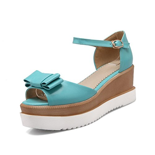 Adee , Damen Sandalen, Blau - blau - Größe: 34