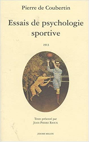 En ligne Essais de psychologie sportive, 1913 pdf ebook