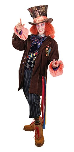elope Men's Mat Hatter Tea Party Replica Jacket -