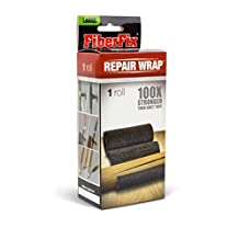 """FiberFix 4"""" Repair Tape Wrap - Fix Anything with Permanent Waterproof Repair Tape 100X Stronger than Duct Tape (Packaging May Vary)"""
