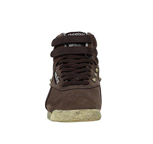 Reebok Freestyle Hi V54019 Damen Sneakers / Freizeitschuhe Braun Braun