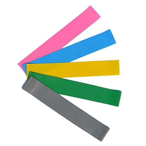 LtrottedJ Resistance Band Loop Yoga Pilates ,Home GYM Fitness Exercise Workout Training by LtrottedJ (Image #2)