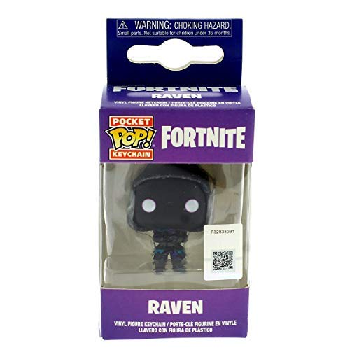 Funko Pop! Keychain: Fortnite - Raven Toy, Multicolor, One-Size