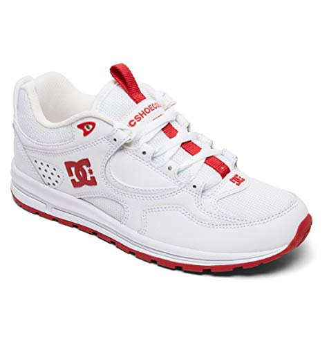 red Dc White Adjs100081 Shoes Kalis Blanc Pour Lite Femme Baskets zT4qzwa