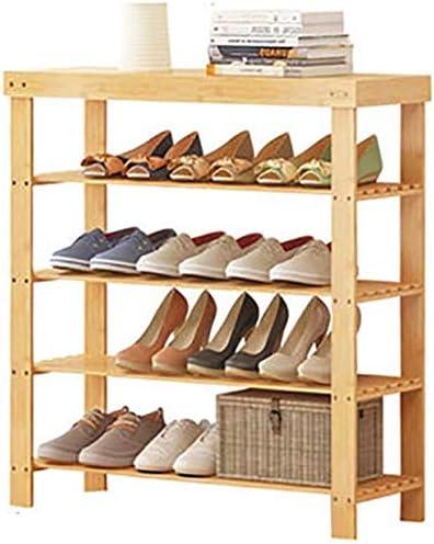 LINrxl 靴多層多機能シューズラック靴磨き取引の経済的な家庭用靴食器棚靴食器棚食器棚靴ストレージ (Size : 17cm*28cm*60cm*80cm)