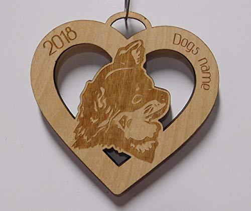 Long Hair Chihuahua, Long Hair Chihuahua Ornament, Personalized Long Hair Chihuahua Ornament, Dog Gift, Pet Gift, Pet Ornament