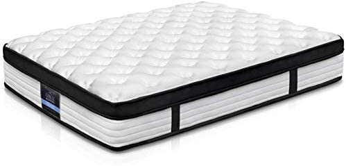 size 40 1a6df 2b0c4 Giselle Bedding Mattress Single Size Euro Top Pocket Spring Foam Bed  Mattress 31cm Thick