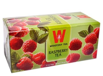 Wissotzky Tea Raspberry 25 Bg ()
