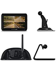 Furrion Vision S Wireless Vehicle Observation System with Monitor and Rear Sharkfin Camera …