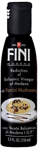 Fini Balsamic Vinegar Reduction, Porcini Mushrooms, 5.1 Ounce Porcini Pasta Sauce