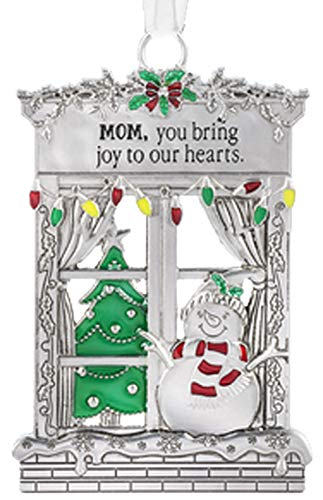 Ganz Mom you Bring joy to Our Hearts Zinc EpoxyDecorative Hanging Ornaments