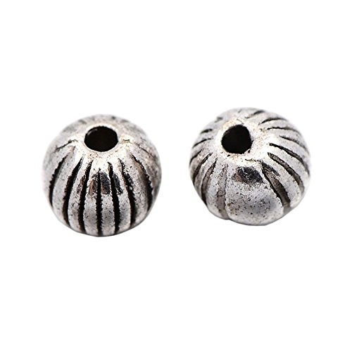 pandahall-100-piece-tibetan-silver-antique-silver-corrugated-round-bead-spacers-lead-free-and-cadmiu
