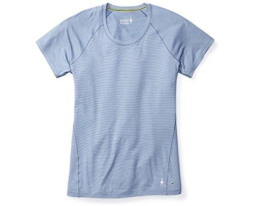 Raglan Wrap - SmartWool Women's Merino 150 Baselayer Pattern Short Sleeve (Blue Steel- Past Season) Medium