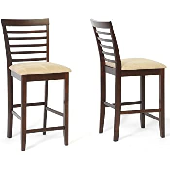 modern counter stools with arms toronto studio wood stool brown set leather