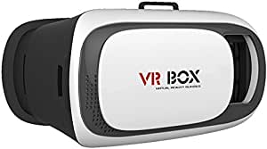 نظارات الواقع الافتراضي VR بوكس VR02 ثلاثية الابعاد مع لوحة تحكم بلوتوث