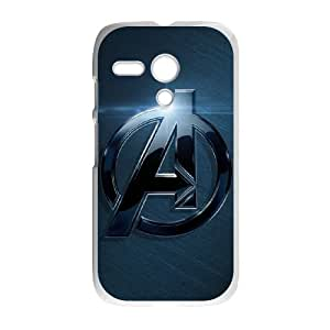 Motorola G Cell Phone Case White The Avengers Logo Juel