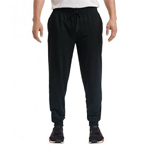 Anvil Unisex Adults Lightweight Terry Jog Pants (M) (Black)